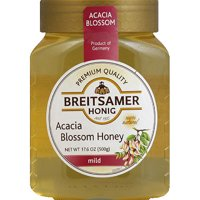 Breitsamer Honig Mild Acacia Blossom Honey, 17.6 oz, (Pack of 6)