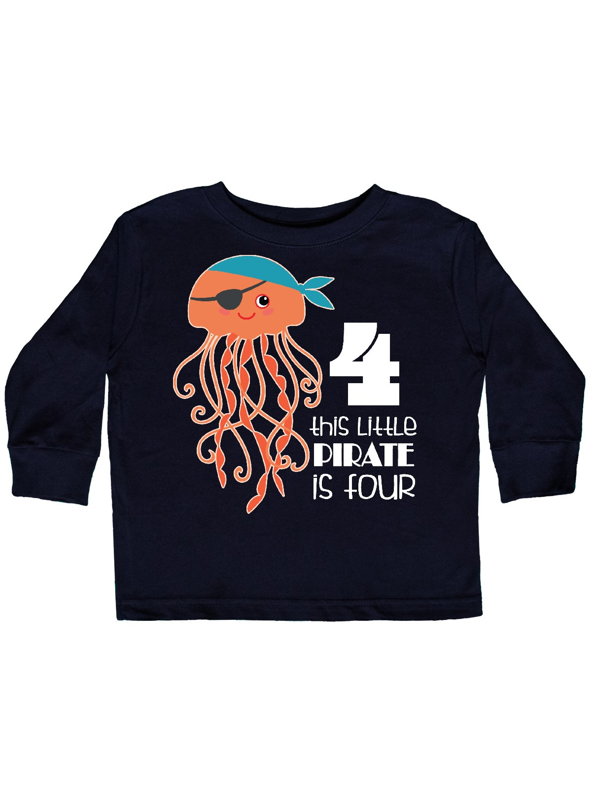 inktastic Living The Ocean Life with Mermaid Toddler Long Sleeve T-Shirt