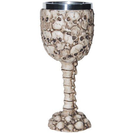 Skull Goblet Set Adult Halloween Accessory