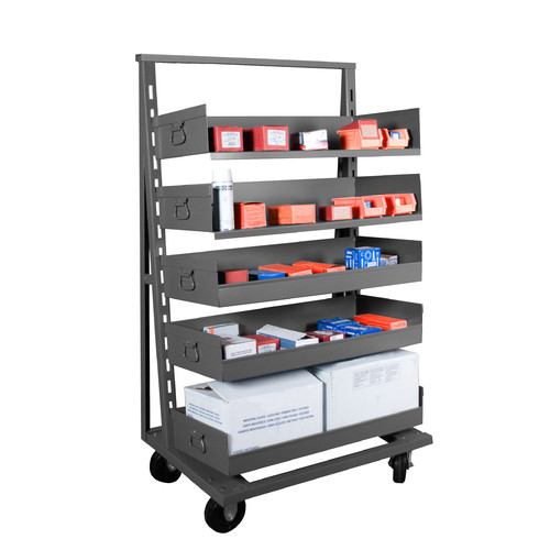 Value Brand Mobile Bin Cart, ATT-2438-95