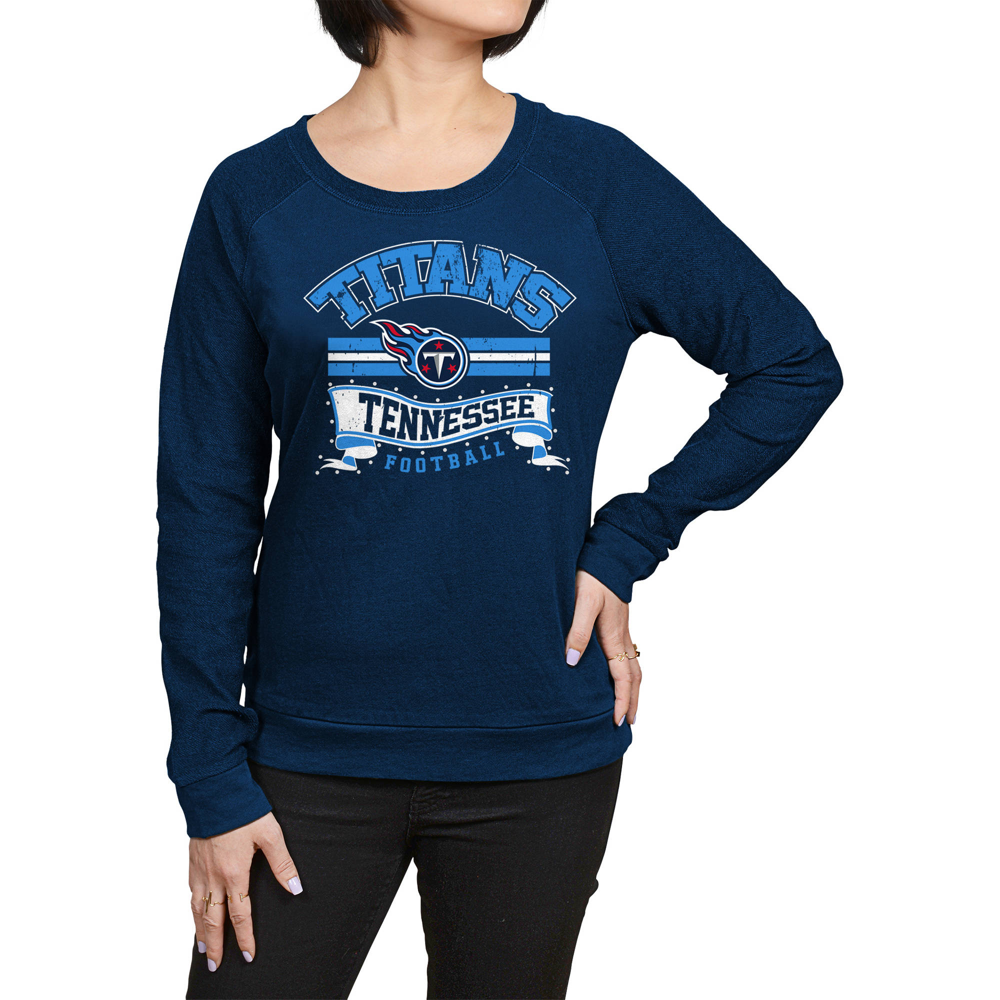 NFL Tennessee Titans Juniors Fleece Top