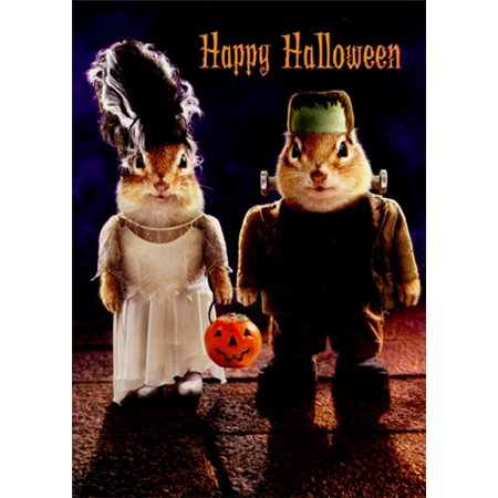 Avanti Press Chipmunk Monsters Funny Halloween - Halloween Photo Cards Target
