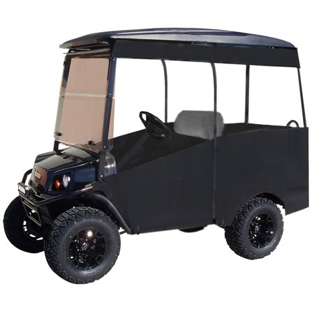 "Club Car Precedent 80"" Track Style Sunbrella Golf Cart Enclosure"