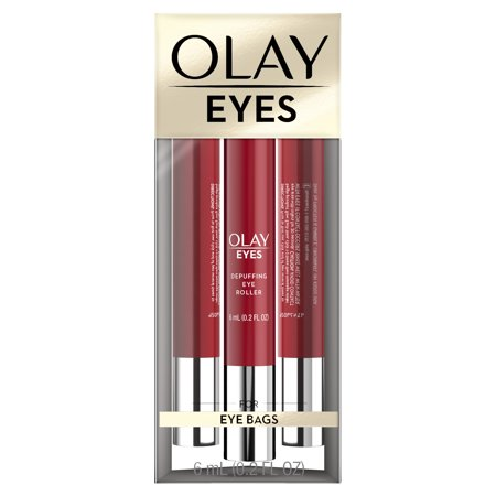 De Puffing Eye Serum - Olay Eyes Depuffing Eye Roller for bags under eyes, 0.2 fl oz