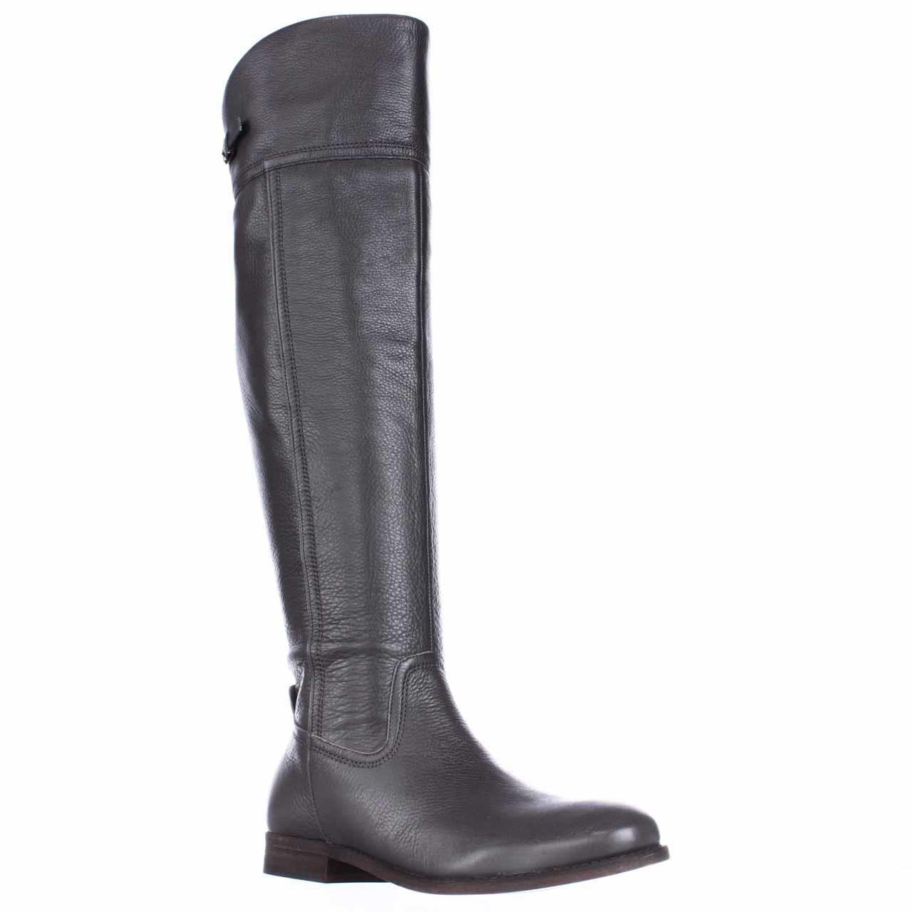 Womens Franco Sarto Hydie Tall Riding Boots, Grey