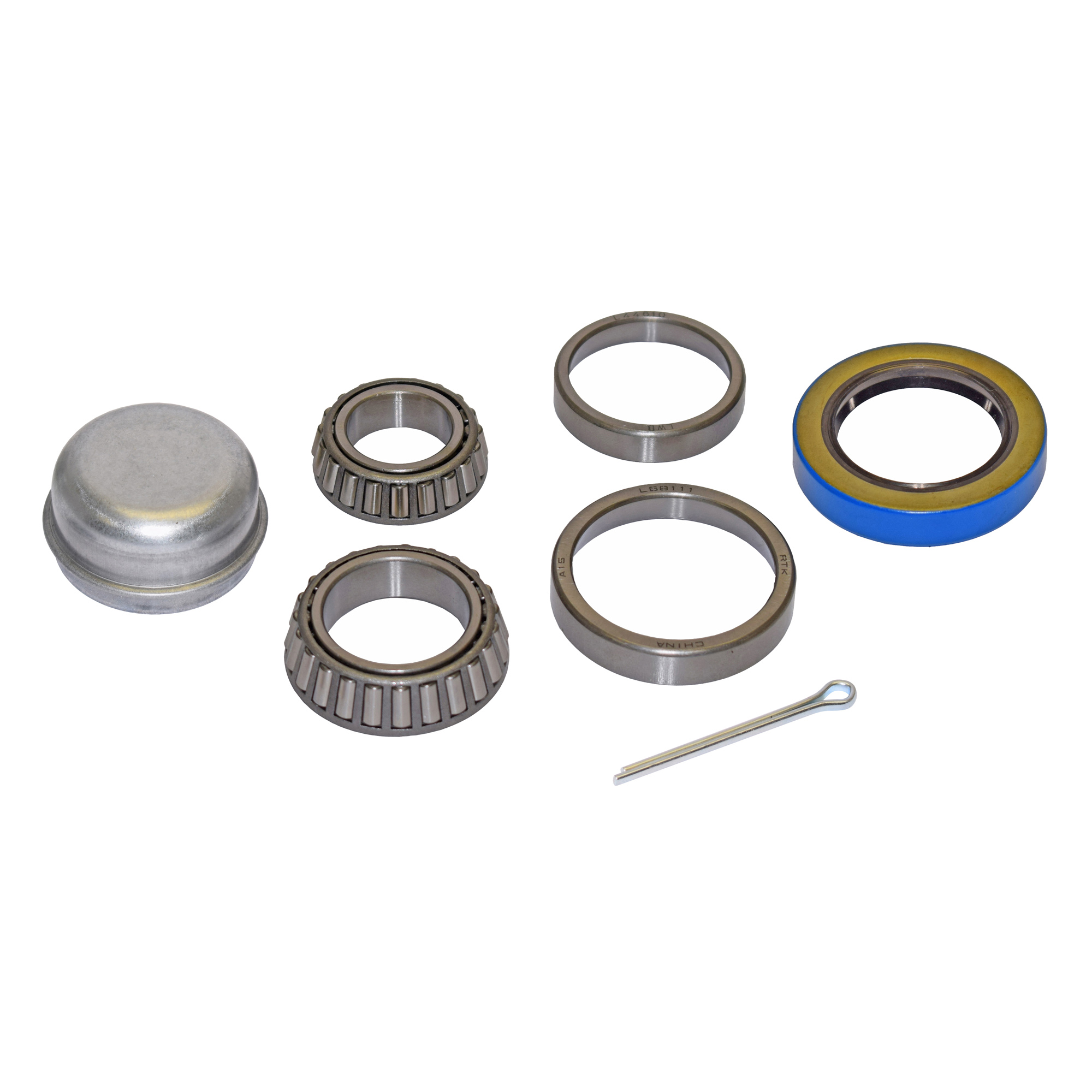 Trailer Bearing Repair Kit For 1-3/8 Inch to 1-1/16 Inch Tapered Spindle