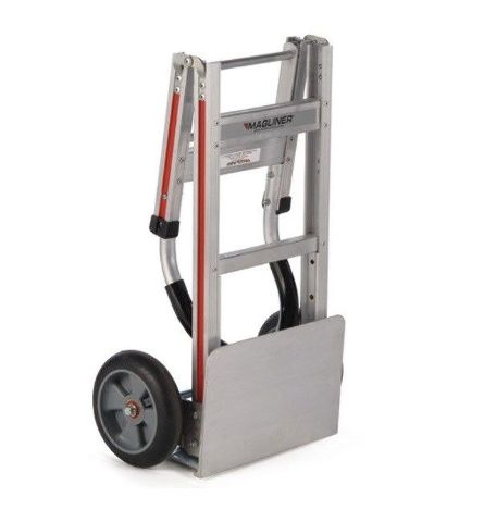 "Folding 48"" Vinyl Handle 14"" Nose 8"" Tire Handtruck Easy To Store Ship (Built)"