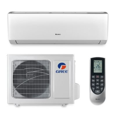 gree vir09hp230v1a 9 000 btu 23 seer vireo wall mount ductless mini split air conditioner heat. Black Bedroom Furniture Sets. Home Design Ideas
