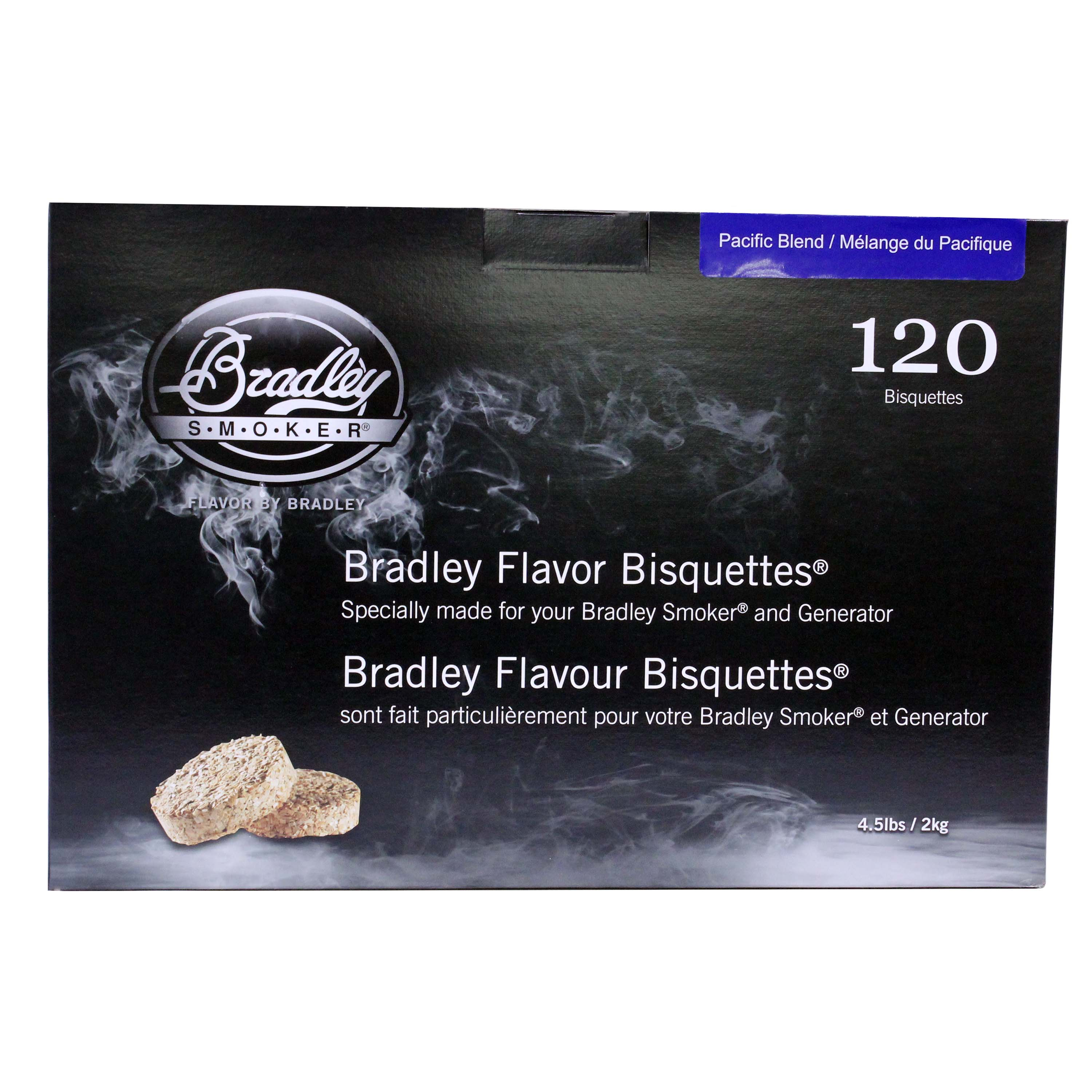 Bradley Smokers Smoker Bisquettes Pacific Blend (120 Pack)