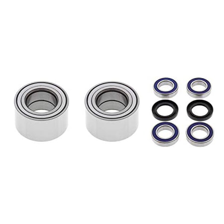 ALL BALLS All Bearing Kit for Front and Rear Wheels fit Kymco MXU 500 4WD (All Wheel Drive)