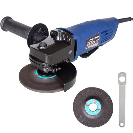 4 Inch Heavy Duty Angle Grinder - EJWOX 4-1/2 Inch 6 Amp Heavy Duty Paddle Switch Angle Grinder