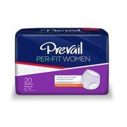 Prevail Per-Fit Moderate Absorbency Women Underwear, Medium, 80 Ct