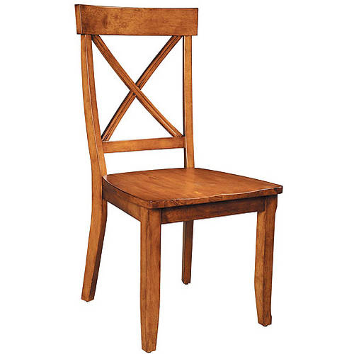 Home Styles Dining Chairs - Set of 2, Cottage Oak