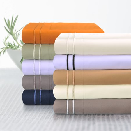 Impressions Wickenden Egyptian Cotton Embroidered Deep Pocket Sheet