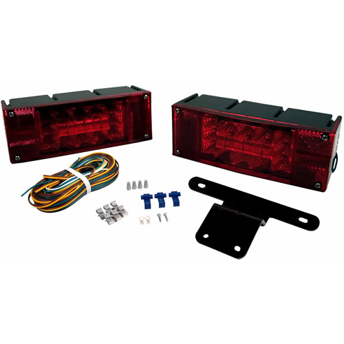 """Blazer C7280 LED Low-Profile Submersible Trailer Light Kit for Trailers Over and Under 80"""", 1 Pair"""