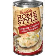 Campbell's Homestyle Creamy Chicken & Herb Dumplings Soup, 18.8 oz.