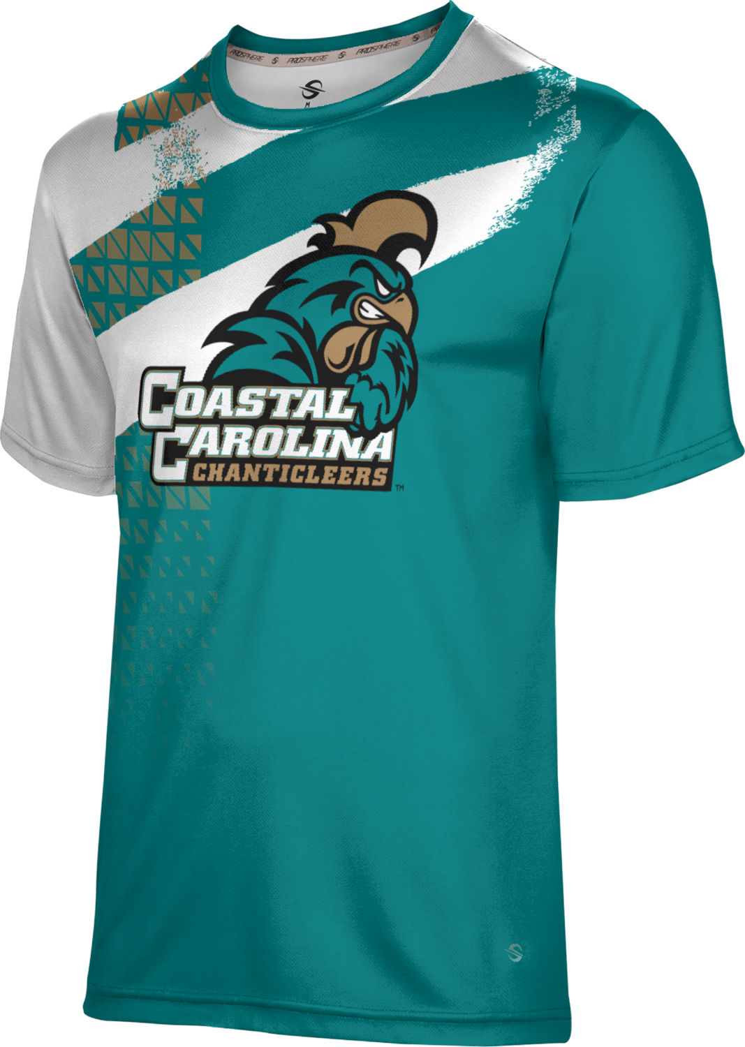 ProSphere Boys' Coastal Carolina University Structure Tech Tee