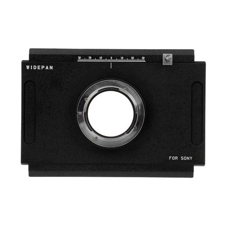 Fotodiox Pro Lens Mount Adapter - Sony Alpha A-Mount (and Minolta AF) DSLR to Large Format 4x5 View Cameras with a Graflok Rear Standard - Shift / Stitch Adapter - Large Format Ccd
