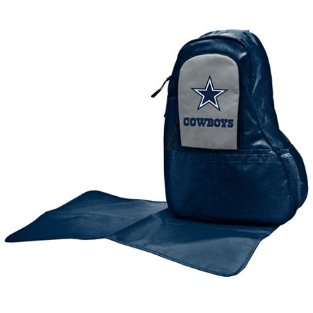 Nfl Diaper Bag By Lil Fan Sling Style Dallas Cowboys