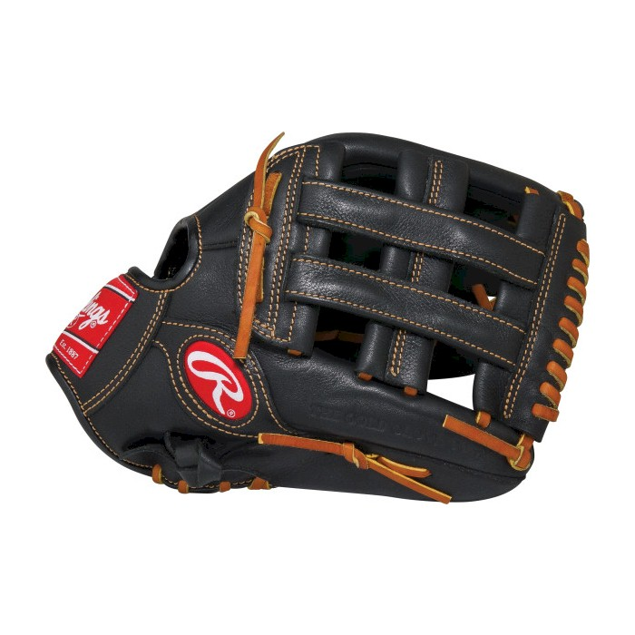12.5 in. Premium Pro Glove in Black (Right)