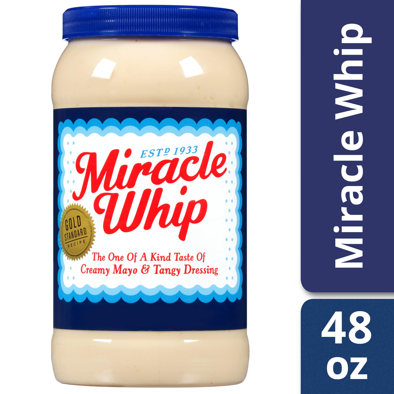 Miracle Whip Original Dressing, 48 fl oz Jar