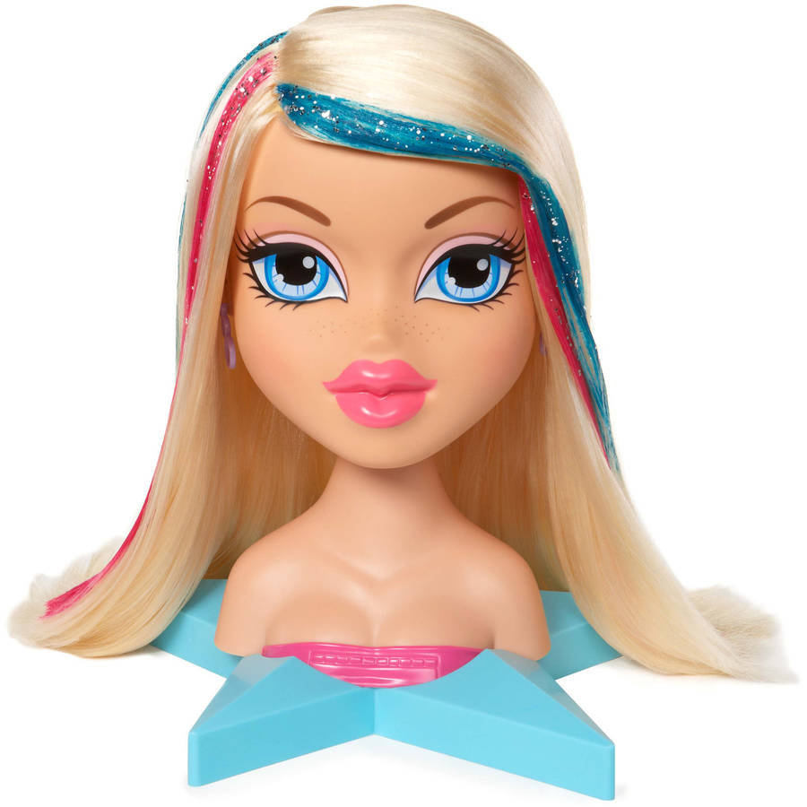 up yasmin styling head doll just play barbie deluxe styling head ...