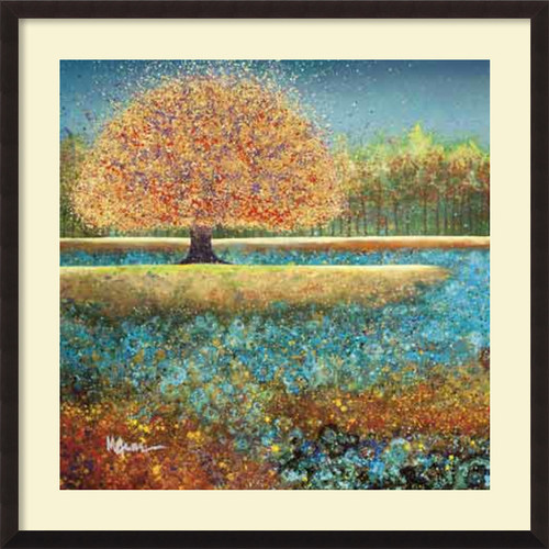 Amanti Art 'Jewel River' by Melissa Graves-Brown Framed Painting Print by Amanti Art