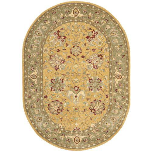 Charlton Home Dunbar Hand-Tufted Wool Multi-Colored Area Rug