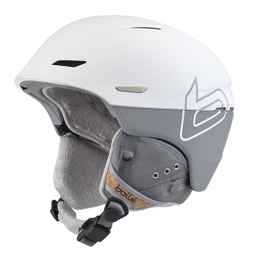 Bolle Winter Millenium Soft White & Grey Knit 58-61cm 31506 Ski Helmet by Bolle