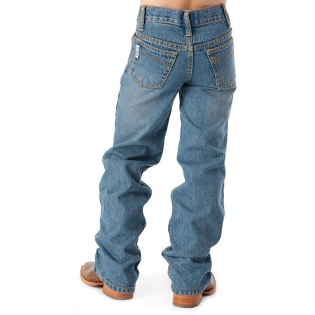 Cinch Boys' White Label Traditional Rise Slim Fit Jean - Light