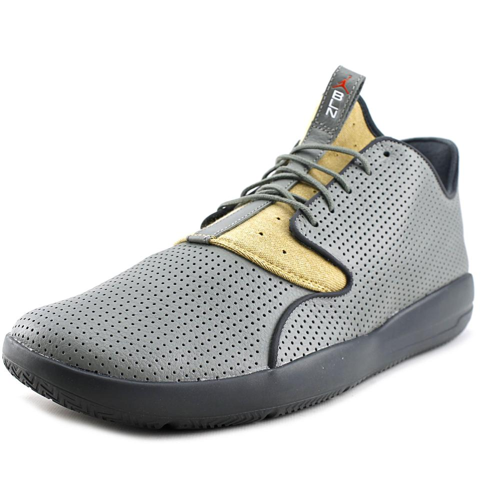 Nike Eclipse LTR Men  Round Toe Leather Gray Sneakers