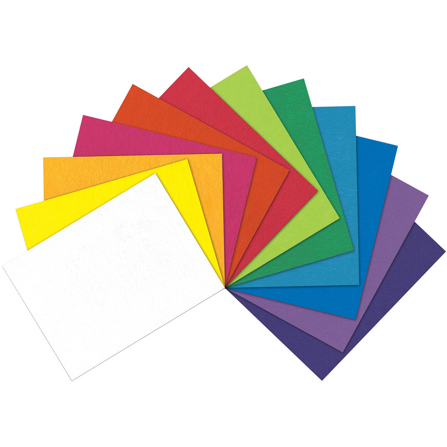 "Felt Fun Pack 12""X18""-Assorted Colors"
