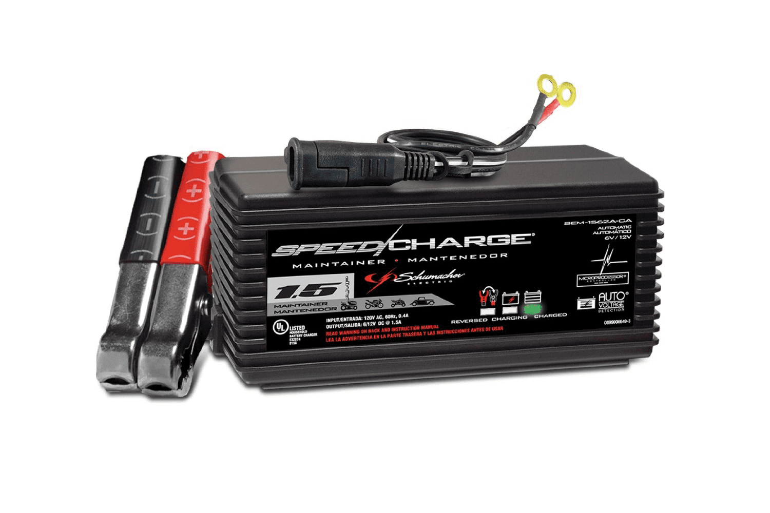 6 12 Volt 1.5 Amp Maintainer by Charge Xpress