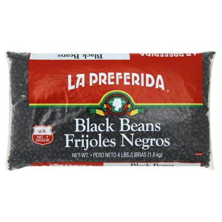 La Preferida La Preferida  Black Beans, 4 lb