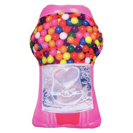Iscream Gumball Machine Bubble Gum Scented Pillow