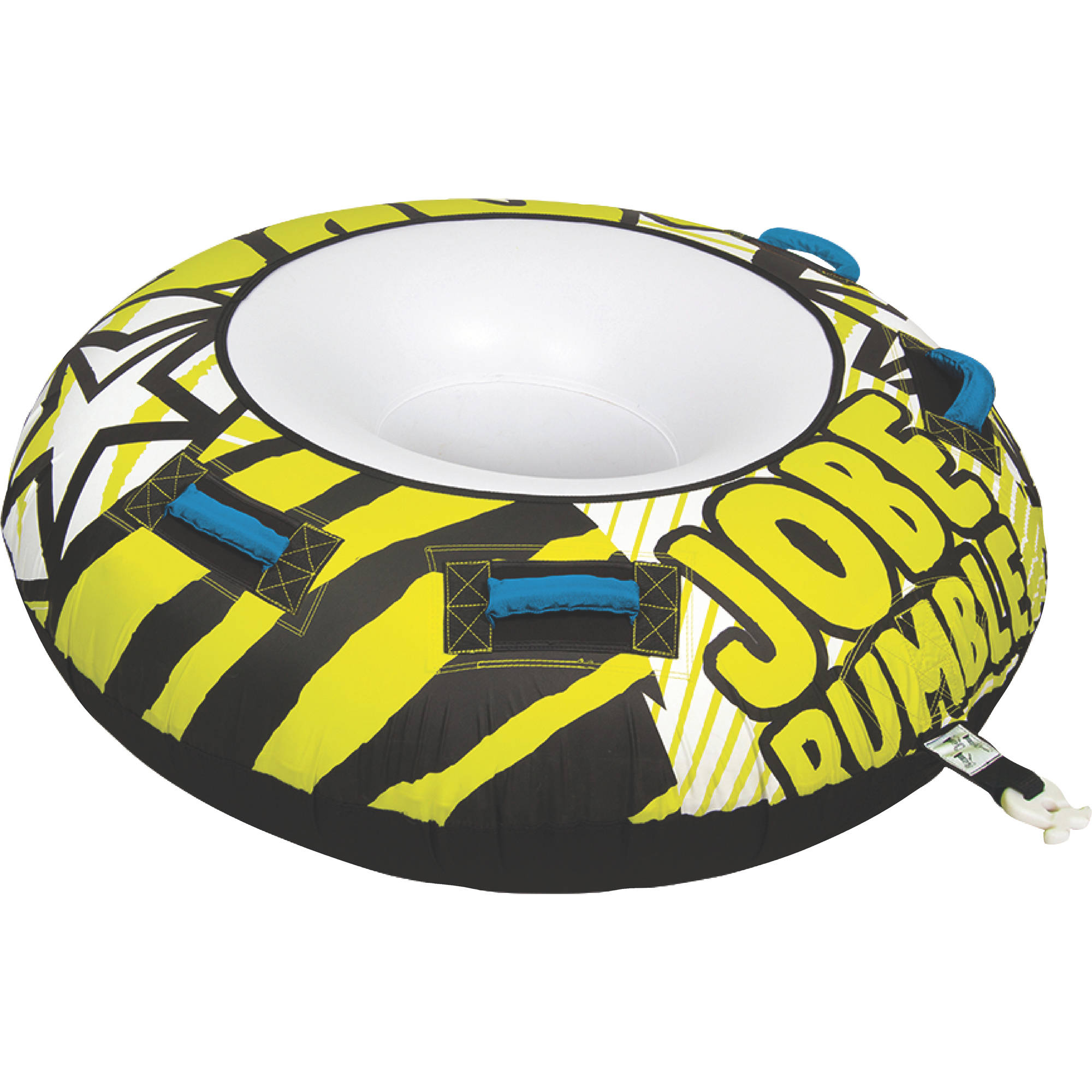 Jobe 230116005 Rumble 1 Person Open Top Inflatable Towable by Jobe Sport International