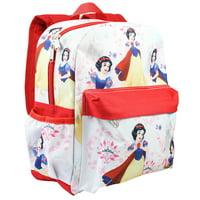 "Disney Princess Snow White Allover Print 16"" Girls Large Backpack"