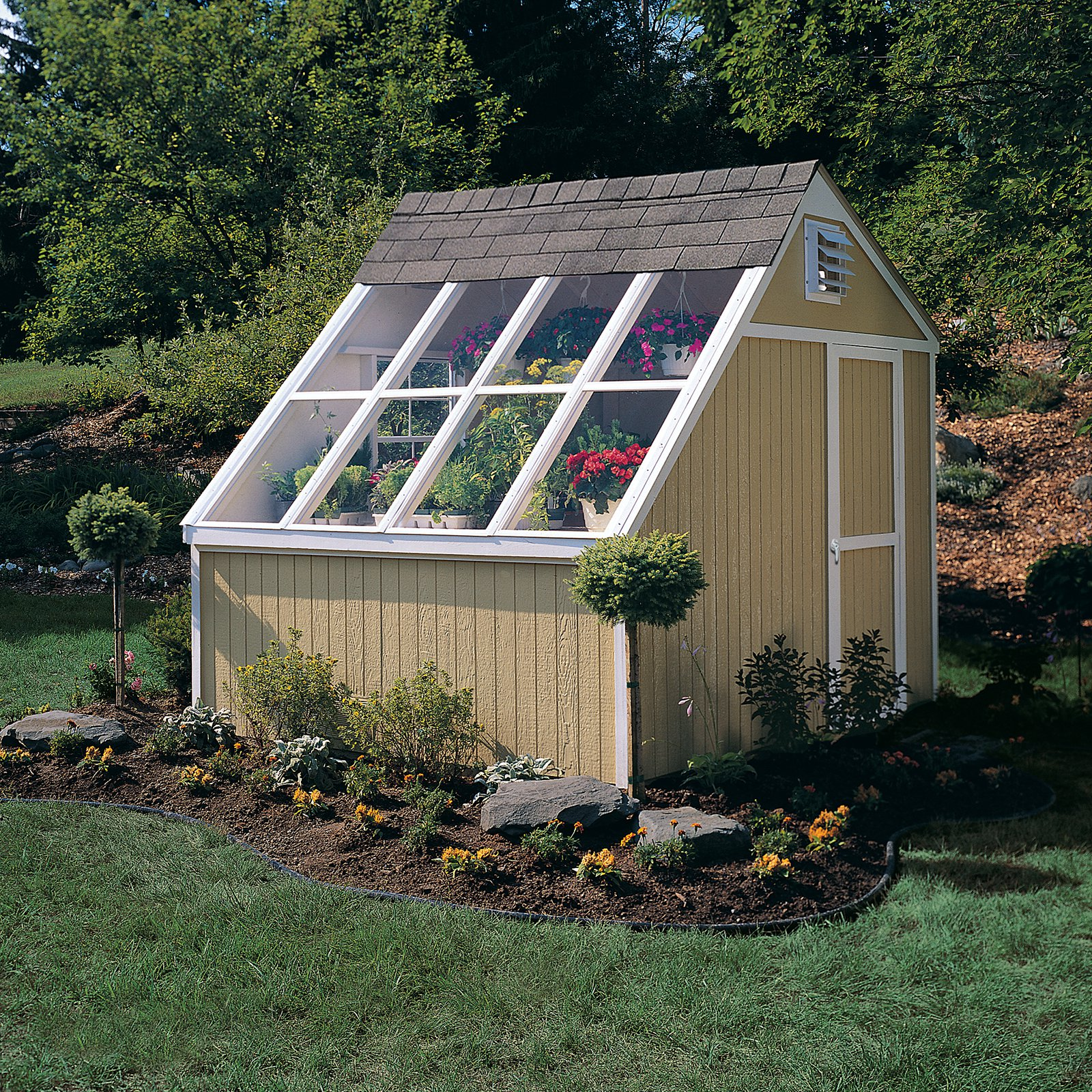Handy Home Phoenix Solar Shed - 10 x 8 ft.