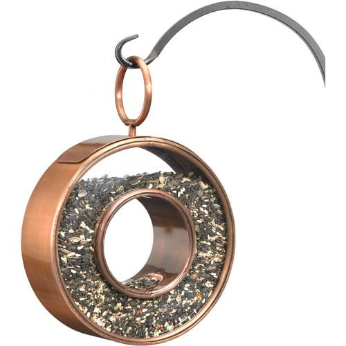 Fly Thru Bird Feeder, Venetian Bronze