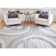 Sonoma Vision Woven Viscose Rug, Gray Multi