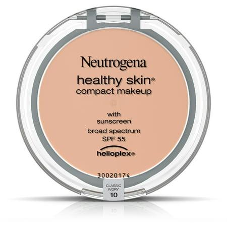 Neutrogena Healthy Skin Compact Makeup Foundation  Broad Spectrum Spf 55  Classic Ivory 10   35 Oz