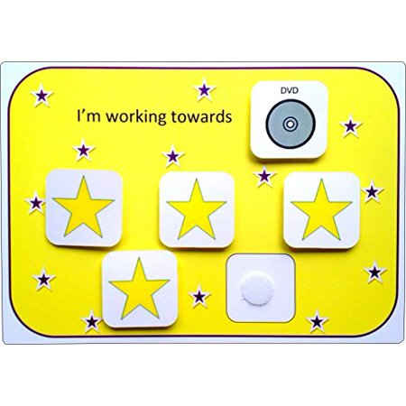 Plastic Visual ASD Reward Chart (Picture Communication Symbols) - image 1 of 1