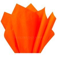 """Orange Tissue Paper, 15""""x20"""", 100 ct"""