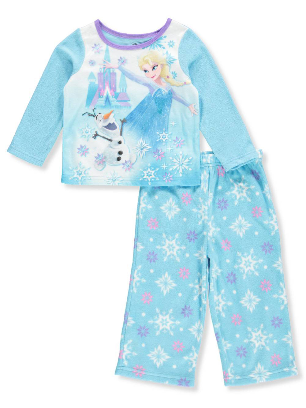 Disney Frozen Baby Girls' 2-Piece Pajamas Featuring Elsa & Olaf
