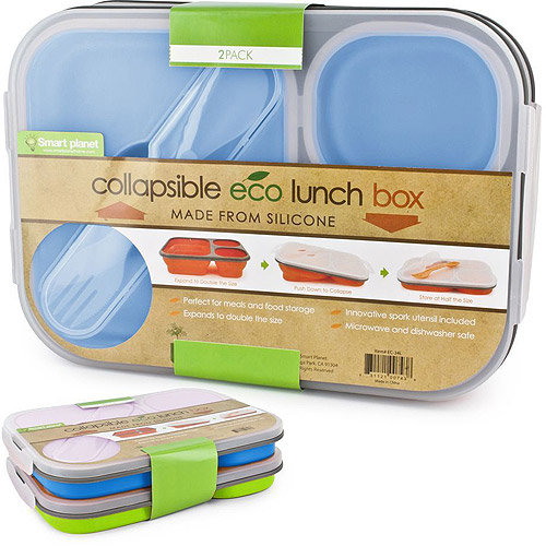 Smart Planet Collapsible Eco Lunch Box