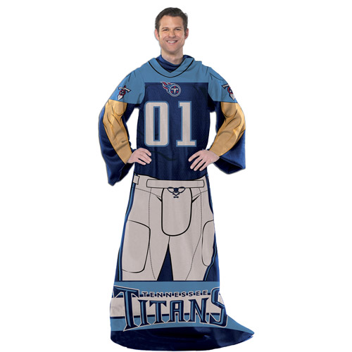 "NFL Tennessee Titans Player 48"" X 71"" Full Body Comfy"
