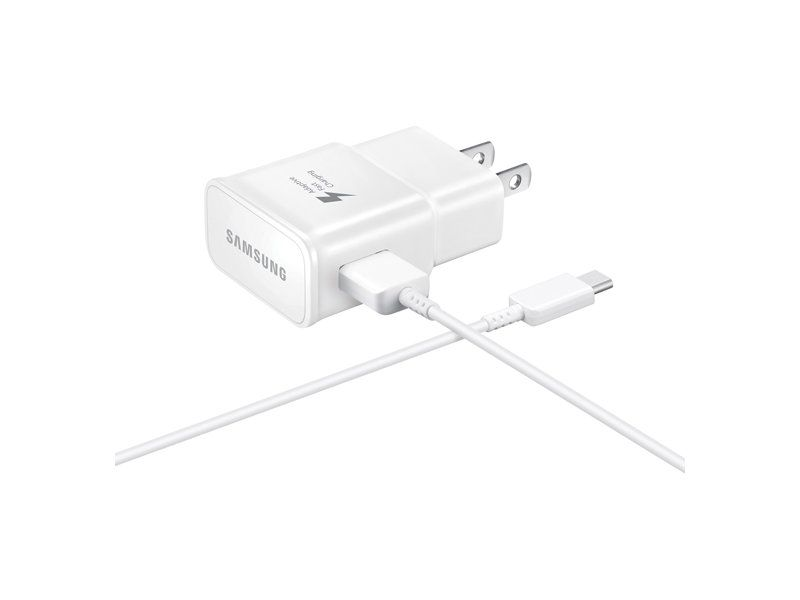 Samsung Genuine Fast Charge USB C 15W Wall Charger – White