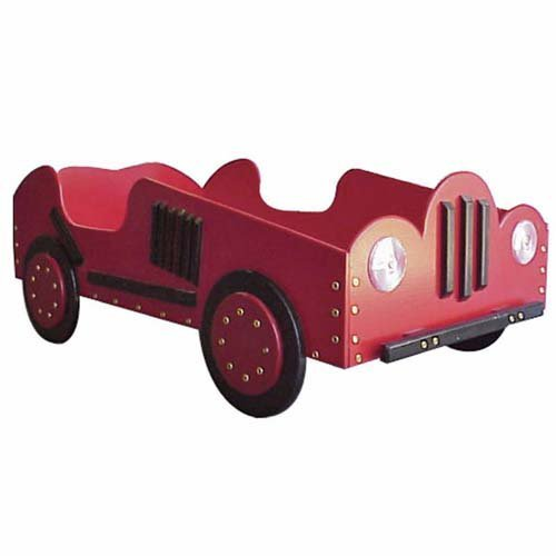 Old Style-Race Car Toddler Bed