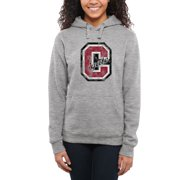 Colgate Raiders Women's Classic Primary Pullover Hoodie - Ash -