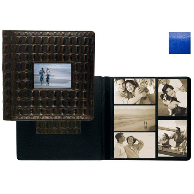 Raika RO 113 BLUE Frame Front 4 x 6 Large Album - Blue